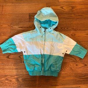🛍3/$25 Hooded windbreaker jacket in size 12 month